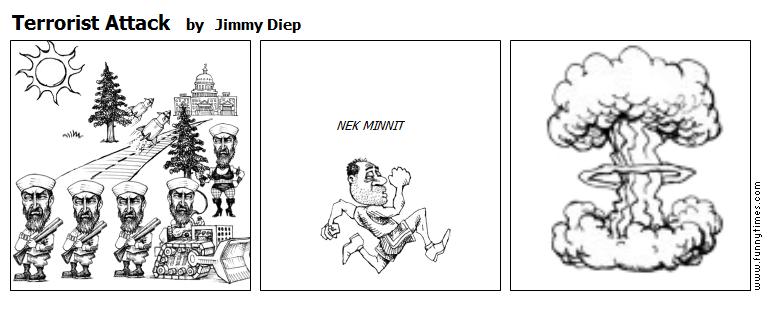 Terrorist Attack by Jimmy Diep