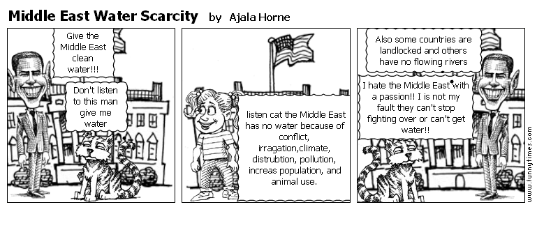 Middle East Water Scarcity by Ajala Horne