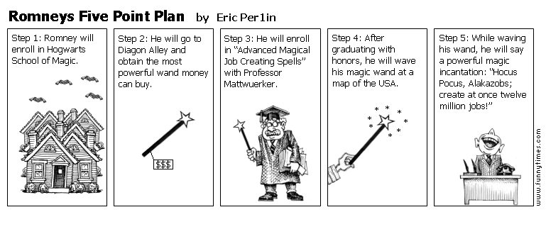 Romneys Five Point Plan by Eric Per1in