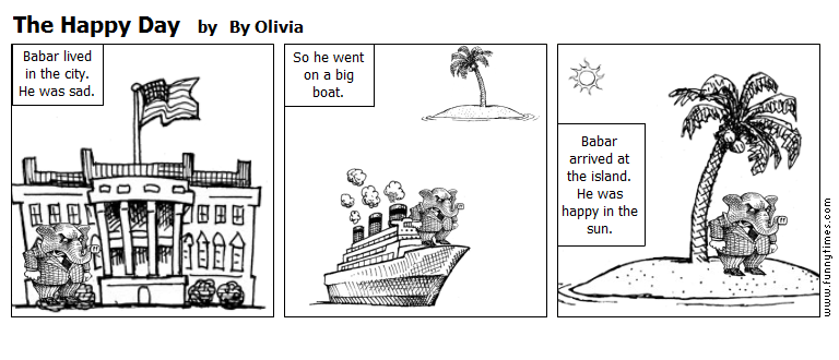 The Happy Day by By Olivia
