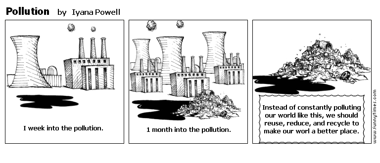 Pollution by Iyana Powell