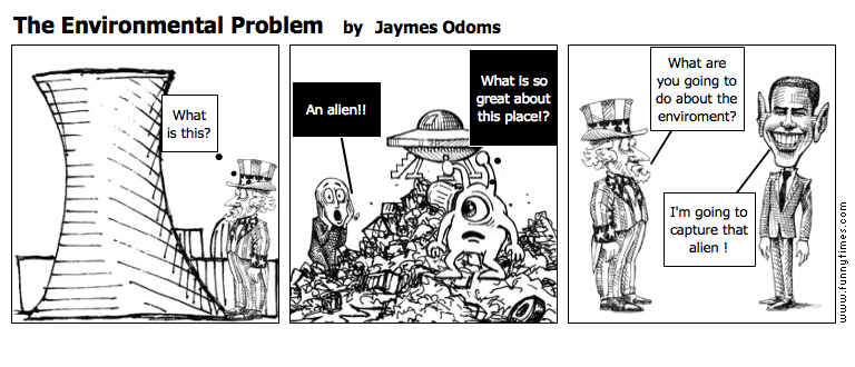 The Environmental Problem by Jaymes Odoms