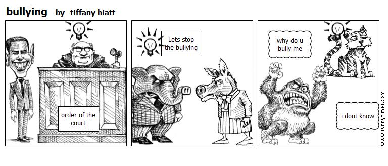 bullying by tiffany hiatt