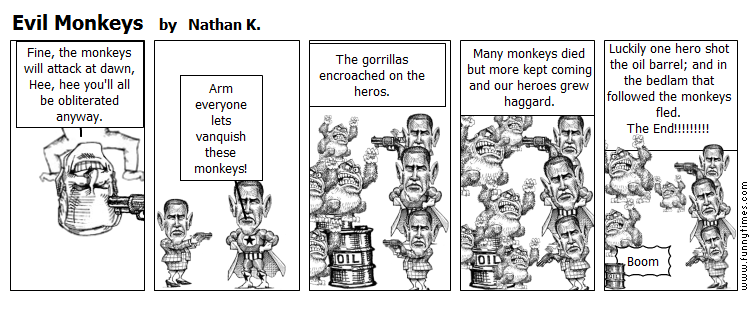 Evil Monkeys by Nathan K.