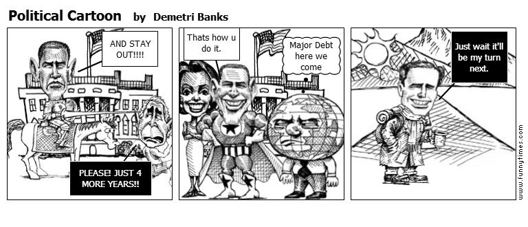 Political Cartoon by Demetri Banks