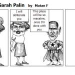 Barrack Obama vs. Sarah Palin