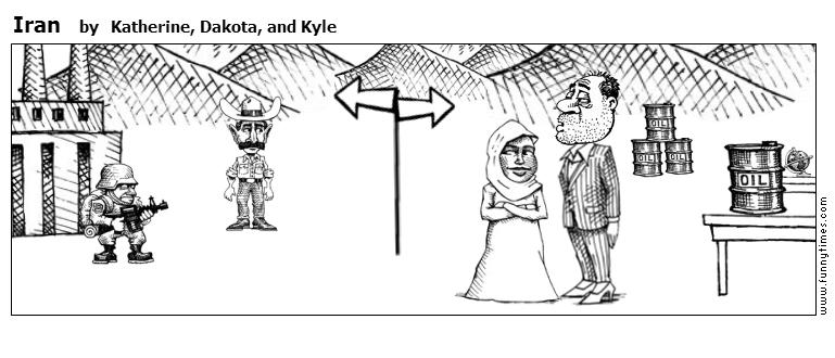 Iran by Katherine, Dakota, and Kyle