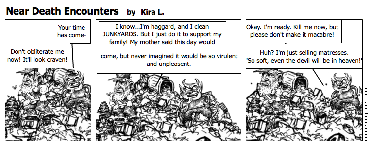 Near Death Encounters by Kira L.