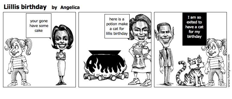 Liillis birthday by Angelica