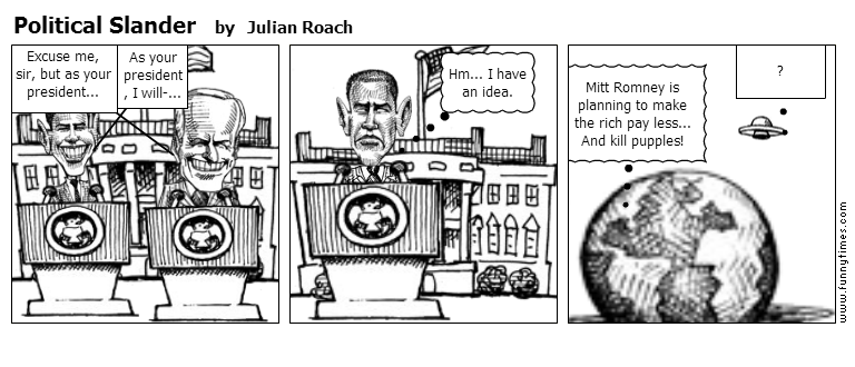 Political Slander by Julian Roach