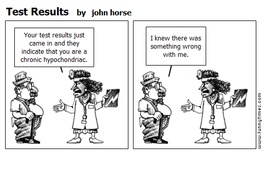 Test Results by john horse