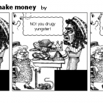 Bob Marley trys to make money