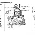 spanish 1 comic