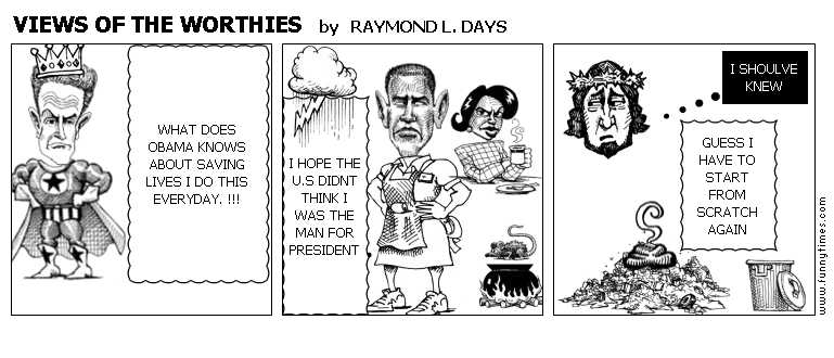 VIEWS OF THE WORTHIES by RAYMOND L. DAYS