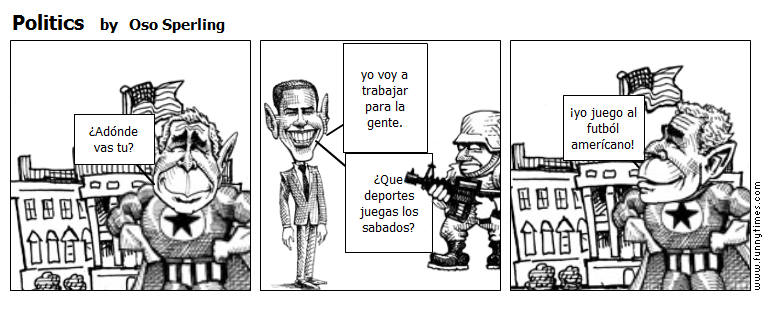 Politics by Oso Sperling