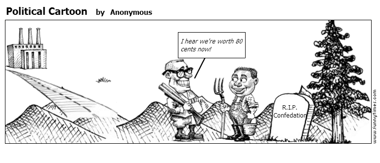 Political Cartoon by Anonymous