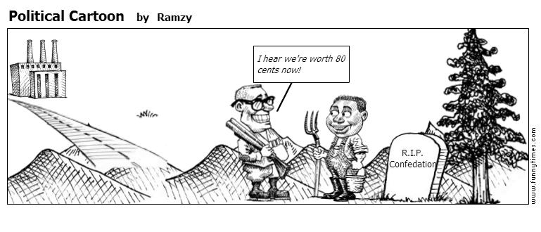 Political Cartoon by Ramzy