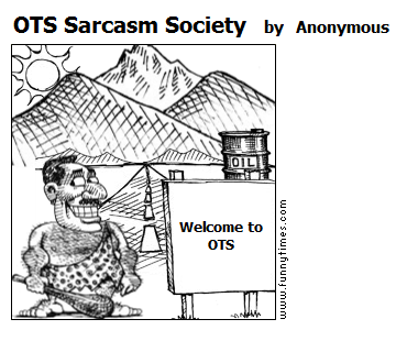 OTS Sarcasm Society by Anonymous
