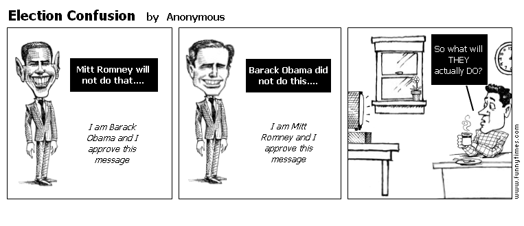 Election Confusion by Anonymous