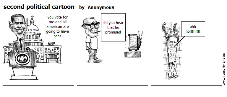 second political cartoon by Anonymous