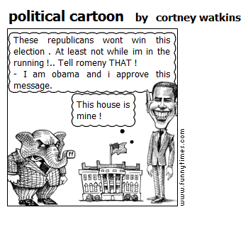 political cartoon by cortney watkins