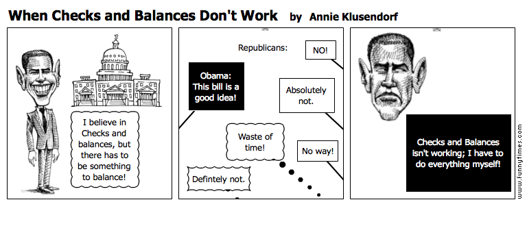 When Checks and Balances Don't Work by Annie Klusendorf