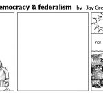 The fight between democracy  federalism