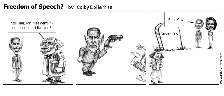 Freedom of Speech by Colby Dollarhite