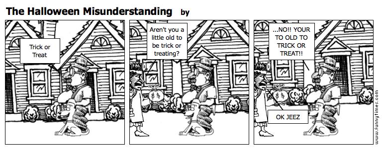 The Halloween Misunderstanding by