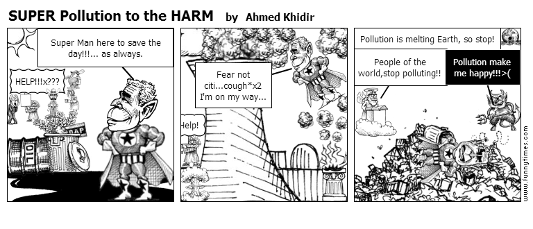 SUPER Pollution to the HARM by Ahmed Khidir