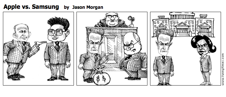 Apple vs. Samsung by Jason Morgan