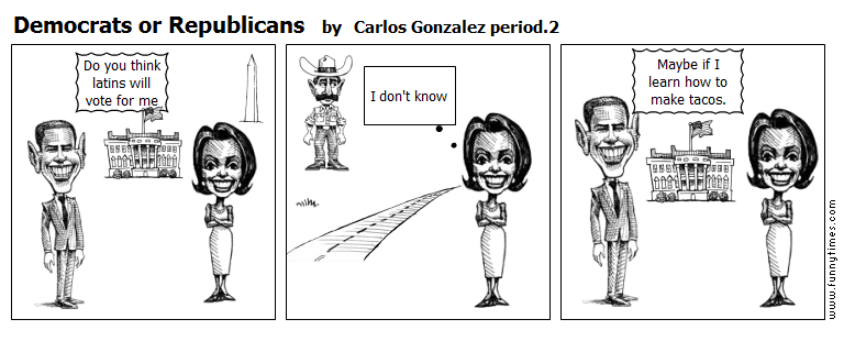 Democrats or Republicans by Carlos Gonzalez period.2