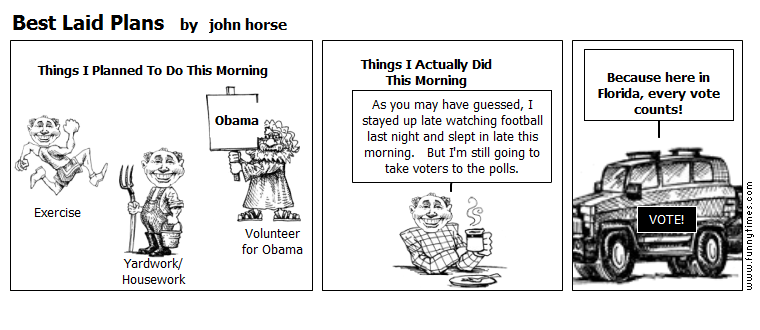 Best Laid Plans by john horse