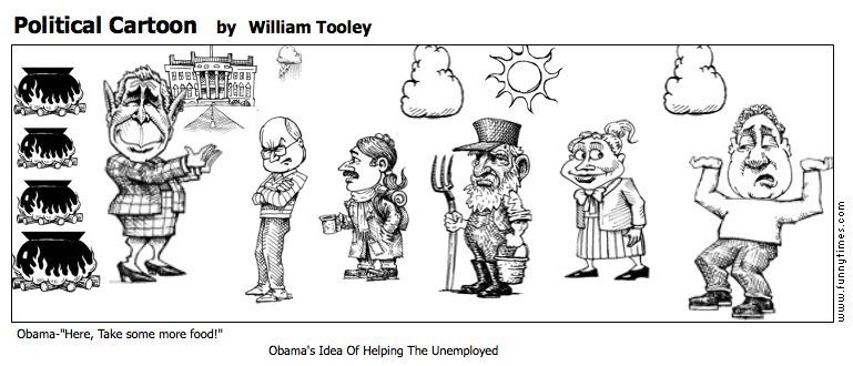 Political Cartoon by William Tooley