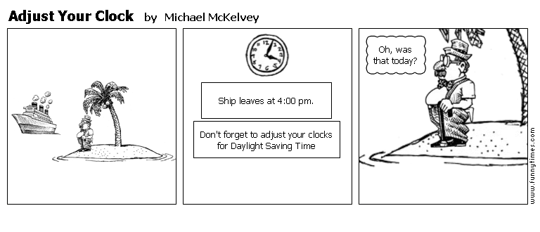 Adjust Your Clock by Michael McKelvey