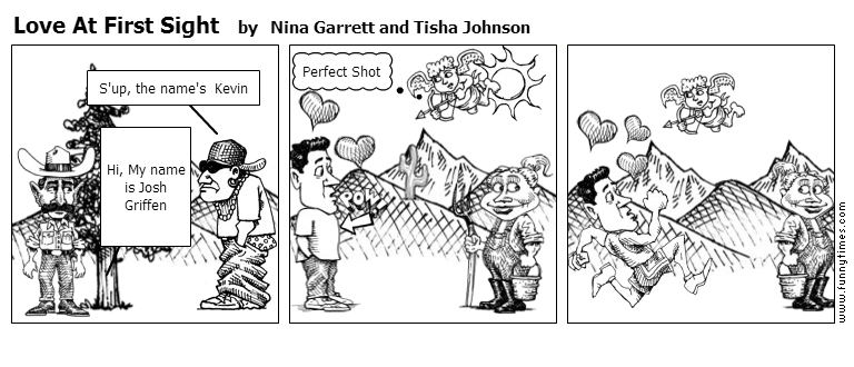 Love At First Sight by Nina Garrett and Tisha Johnson