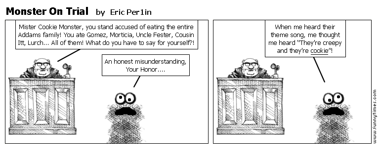 Monster On Trial by Eric Per1in