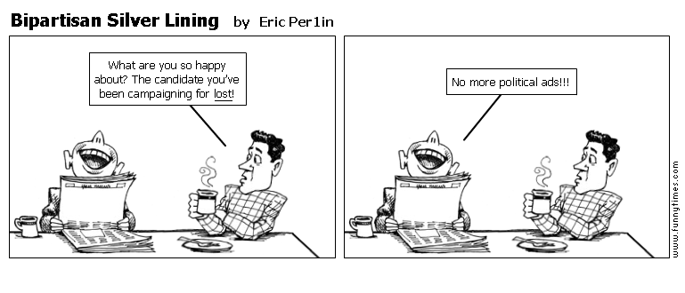 Bipartisan Silver Lining by Eric Per1in