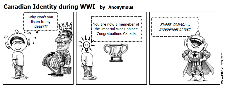 Canadian Identity during WWI by Anonymous