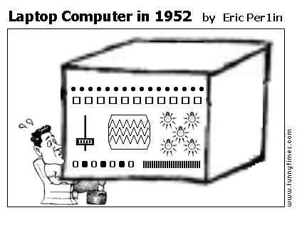 Laptop Computer in 1952 by Eric Per1in
