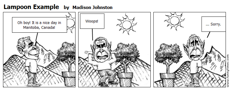 Lampoon Example by Madison Johnston