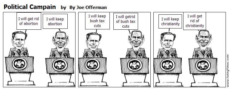Political Campain by By Joe Offerman