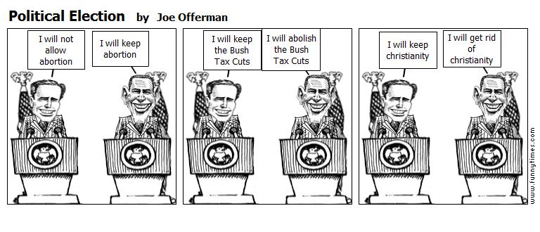 Political Election by Joe Offerman