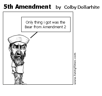 5th Amendment by Colby Dollarhite
