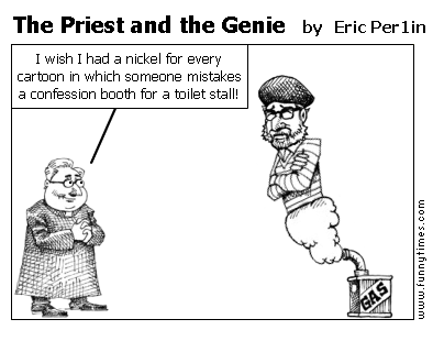 The Priest and the Genie by Eric Per1in