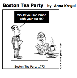 Boston Tea Party by Anna Kregel