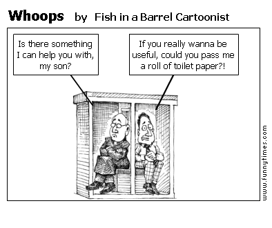Whoops by Fish in a Barrel Cartoonist