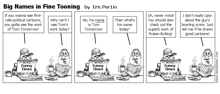 Big Names in Fine Tooning by Eric Per1in