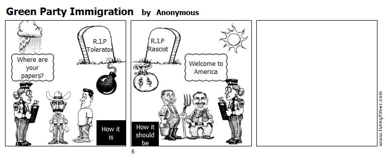 Green Party Immigration by Anonymous