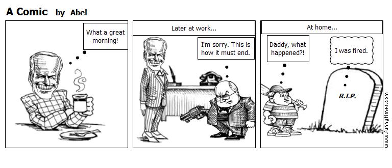 A Comic by Abel